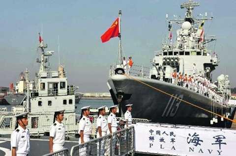 Một tàu của hải quân Trung Quốc