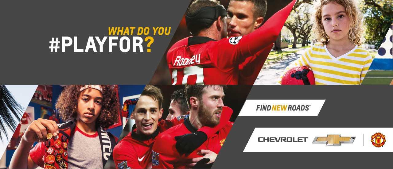 Thông điệp đi kèm với hình ảnh Man Utd trên toàn thế giới