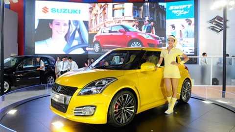Chiếc Suzuki Swift lắp ráp tại              Việt Nam có giá bán 550 triệu đồng, nhưng tại Thái Lan giá bán chỉ              có 15.000 USD (hơn 300 triệu đồng)