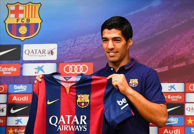 Luis Suarez rạng rỡ trong ngày ra mắt Barcelona