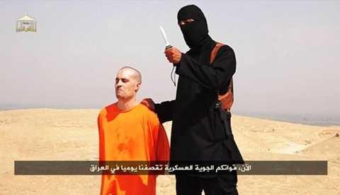 Phóng viên Mỹ bị bắt cóc James Wright Foley trong đoạn video