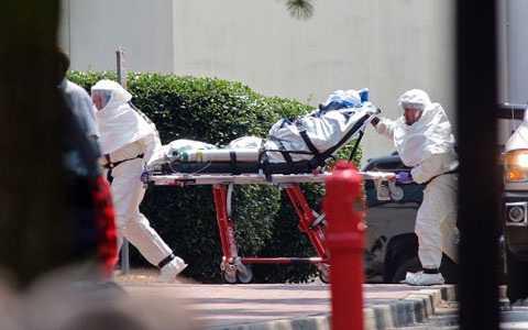Virus Ebola đã làm 84 người tử vong chỉ trong vòng 3 ngày