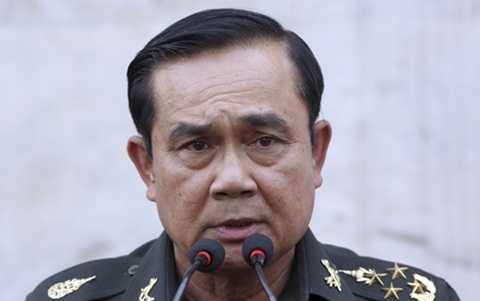 Không loại trừ khả năng Đại tướng Prayuth có thể trở thành Thủ tướng lâm thời Thái Lan
