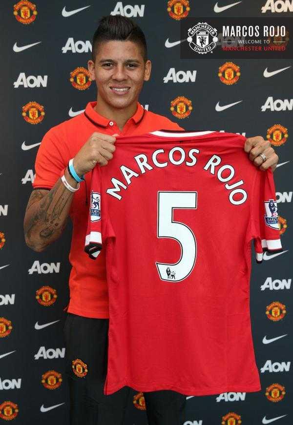 Tân binh Marco Rojo của Man Utd