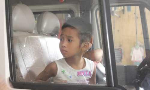 Ngày 22/8, một số trẻ em đã được chuyển từ chùa Bồ Đề về Trung tâm bảo trợ xã hội số 2.