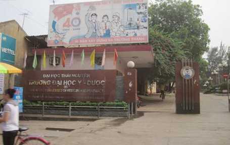 Trường Đại học Y Dược (Đại học Thái Nguyên) - nơi PGS.TS Đàm Khải Hoàn công tác.