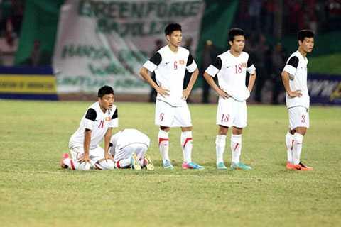 U19 Việt Nam thất vọng sau khi để thua U21 Myanmar