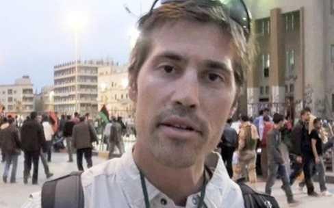 Nhà báo James Foley (Ảnh AP)