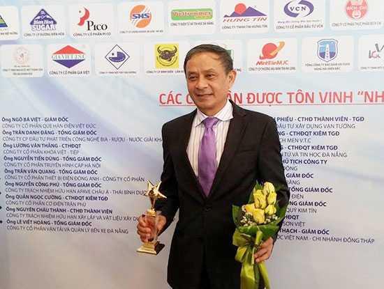 Ông Mai Văn Bình, Phụ trách chức vụ Chủ tịch MobiFone được vinh danh là nhà lãnh đạo doanh nghiệp xuất sắc