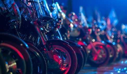 Câu lạc bộ xe máy 'Những con sói đêm'