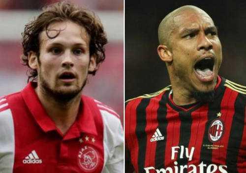 Daley Blind và Nigel De Jong sẽ tái ngộ thầy cũ Van Gaal?