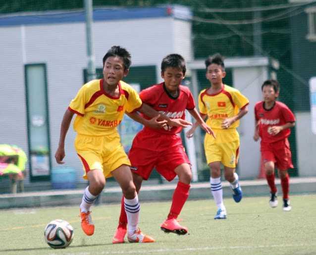U13 SLNA toàn thắng trong chuyến du đấu Nhật Bản