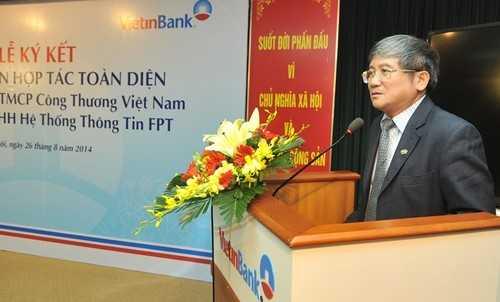 Ông Bùi Quang Ngọc – Tổng Giám đốc Tập đoàn FPT phát biểu tại buổi lễ