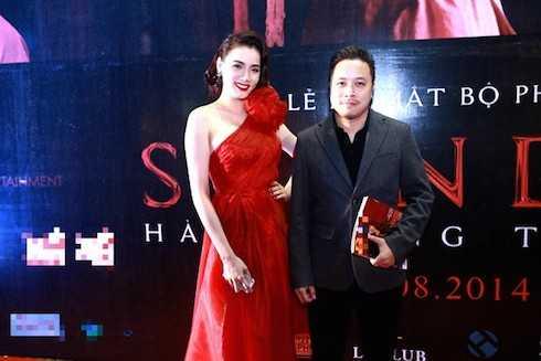 Trang Nhung phủ nhận mọi tin đồn về nghi án tình cảm với Victor Vũ và cho rằng vị đạo diễn hết sức nghiêm túc trong công việc.