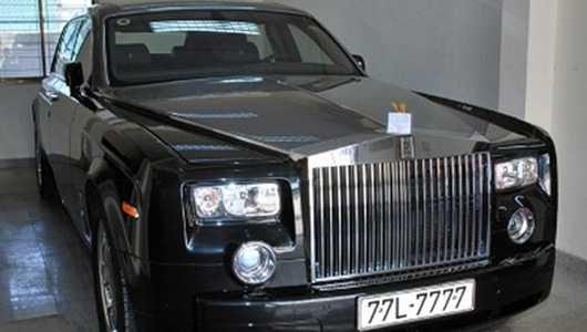 Chiếc Rolls-Royce biển siêu đẹp 77L-7777