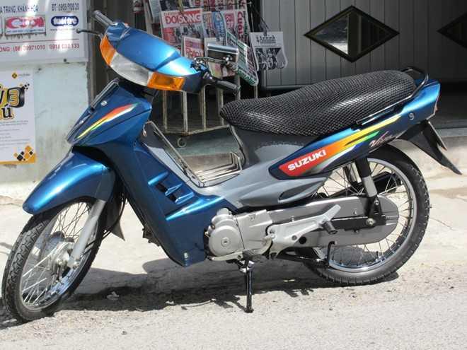 Suzuki Viva, mẫu xe từng khiến bao thế hệ người Việt mê mẩn. Ảnh: Nha Trang Club.