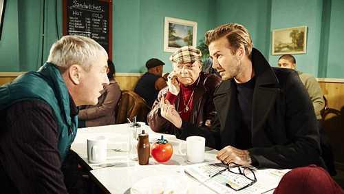 David Beckham đẹp lãng tử trên phim
