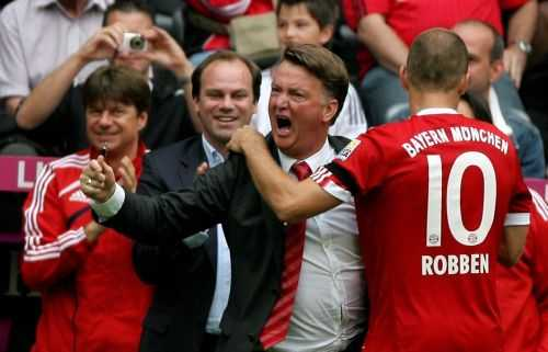 Triết lý hiện tại của Van Gaal đã từng xuất hiện ở Bayern