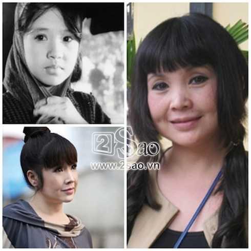 NSND Lan Hương đã lên chức bà được 8 năm. Gương mặt của 'Em bé Hà Nội' đã thay đổi nhiều, duy chỉ có đôi mắt đen tròn vành vạnh là vẫn như xưa.
