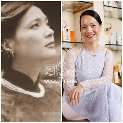 NSND Lê Khanh – biểu tượng nhan sắc của phụ nữ Hà thành bắt đầu xuống sắc.
