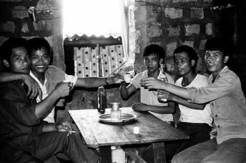 Hoạt động tập thể của bộ đội Trường Sa dịp Lễ Tết, những năm 70-80.