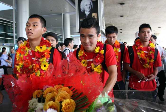21h30 hôm nay, U19 Việt Nam có mặt ở Hà Nội