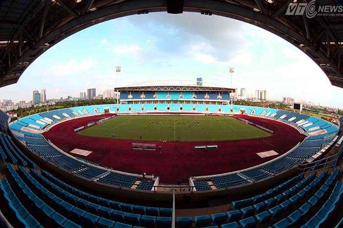 Giải U19 Đông Nam Á sẽ diễn ra trên sân vận động quốc gia Mỹ Đình (Ảnh: Quang Minh)