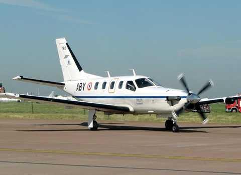 Chiếc Socata TBM-700 cùng loại với chiếc máy bay mất liên lạc