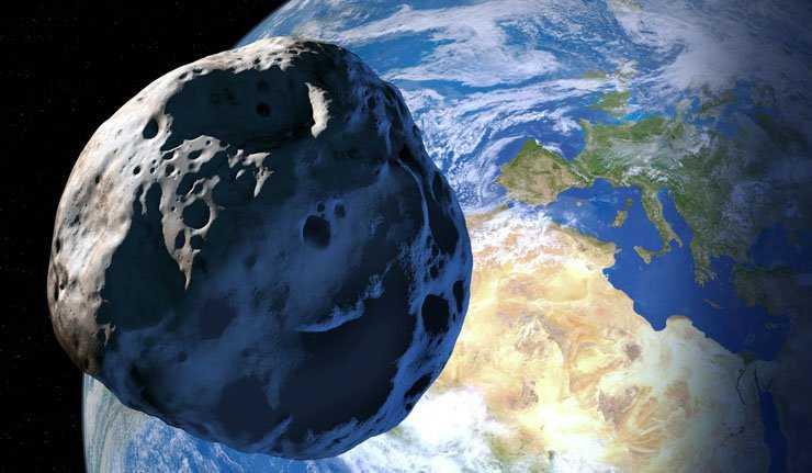 Một tiểu hành tinh đường kính 20 mét sẽ đi qua gần trái đất vào tối Chủ nhật này (Ảnh: East News/Detlev van Ravenswaay )