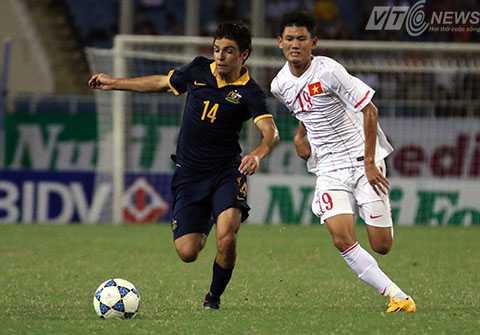 De Silva (14) tài năng có giá 2,5 triệu USD của U19 Australia (Ảnh: Nhạc Dương)