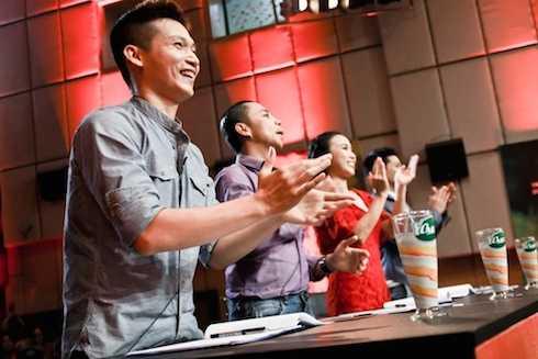 Các thí sinh khiến ban giám khảo cực kỳ phấn khích.
