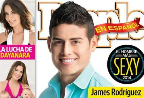 James Rodriguez trên bìa tạp chí People En Espanol