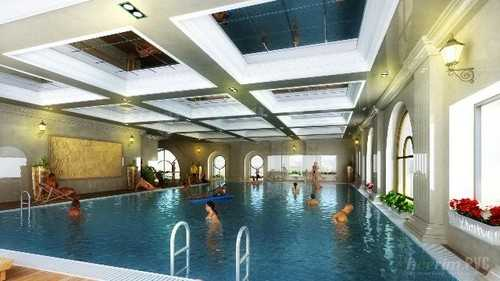 Bể bơi bốn mùa nâng cao sức khỏe cho cư dân