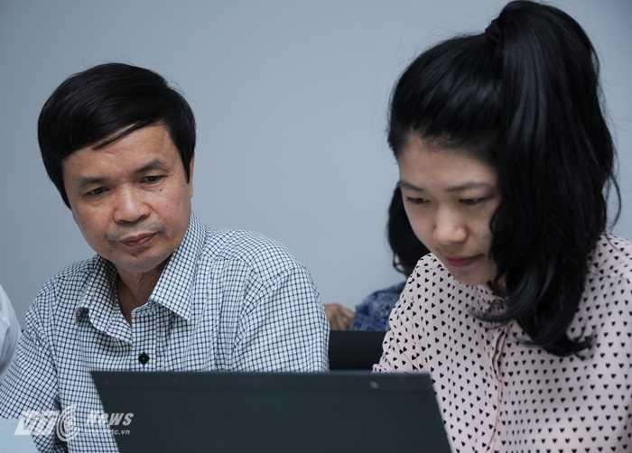 Ông Trần Văn Kiên, Phó Cục trưởng Cục khảo thí và Kiểm định Chất lượng (Bộ GD-ĐT)
