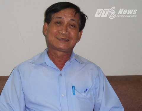 Ông Lê Khắc Huỳnh,Phó trưởngBan quản lý Đường sắt Đô thị TP.HCM.              Ảnh: Phan Cường