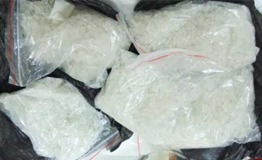Một phần số ma túy là tang vật vụ án