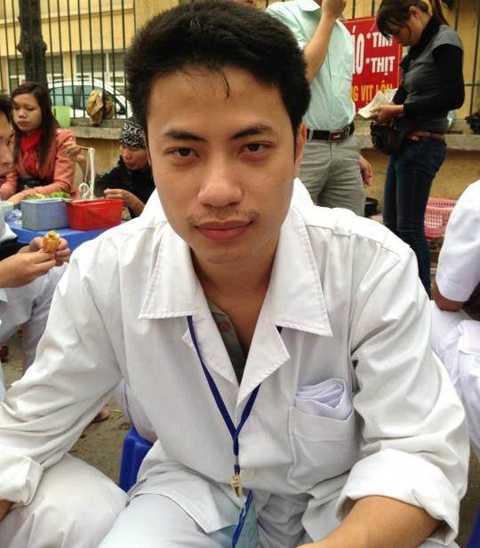 Trung úy, bác sỹ quân y Nguyễn Trung Kiên (ảnh gia đình cung cấp).
