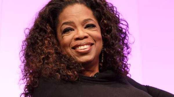 Tỷ phú tự thân Oprah Winfrey.
