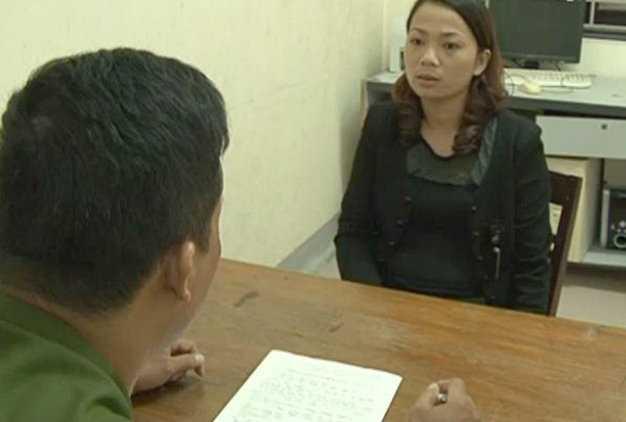 Bị can Lô Thị Hợi (19 tuổi, trú tại bản Canh Khịt, xã Yên Hòa, huyện Tương Dương, Nghệ An) có hành vi buôn bán phụ nữ - Ảnh: An Khánh