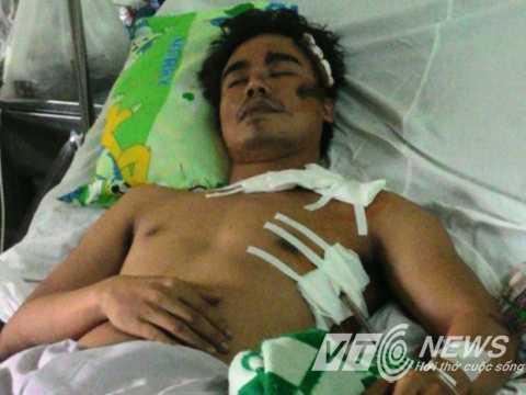 MC Phạm Việt Tân đang điều trị tại Bệnh viện 175 (quận Gò Vấp, TP.HCM)