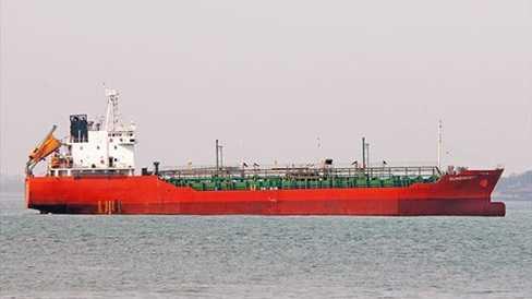 Tàu Sunrise 689  trước khi bị cướp - Ảnh: Chủ tàu cung cấp