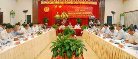Ủy ban Kiểm tra Trung ương đã xem xét và kết luận nhiều nội dung, trong đó có quyết định và đề nghị thi hành kỷ luật với Đảng viên. (Ảnh TTXVN)
