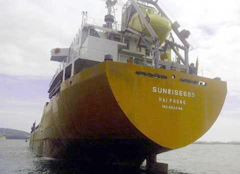 Phía Công ty đã xác nhận, tàu Sunrise 689 bị cướp biển tấn công, hiện đang trên đường về Việt Nam