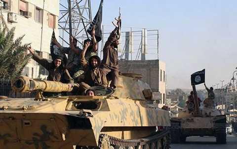 Phiến quân IS được cho là đang sở hữu một số loại vũ khí hiện đại