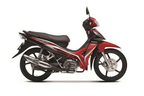 Blade 110 lần đầu ra mắt tại Việt Nam, cạnh tranh với đối thủ Yamaha Sirius