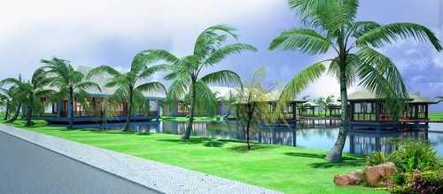 Phối cảnh Spa tại Vinpearl Phú Quốc