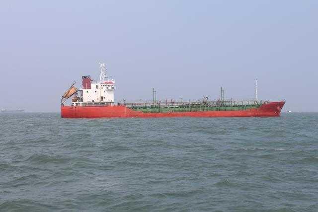 Tàu Sunrise 689 ở khu vực phao neo số 0