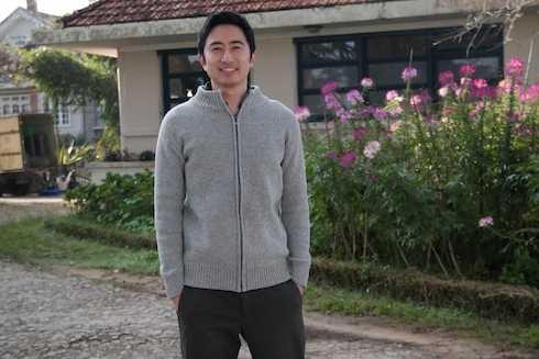 Nam diễn viên điển trai David Trần.