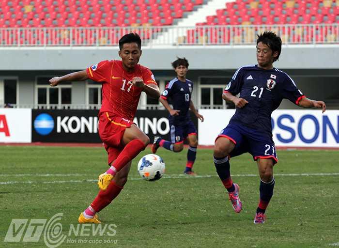 U19 Việt Nam hy sinh rất nhiều (Ảnh: Nhạc Dương)