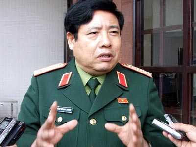 Bộ trưởng Phùng Quang Thanh
